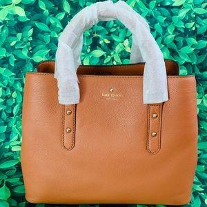 Kate Spade Evangelie Laurel Way Satchel leather